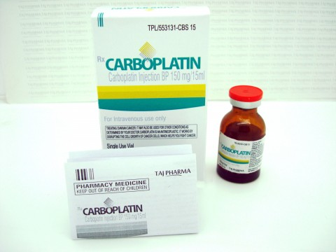 Carboplatin injection BP 150mg